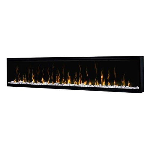 Dimplex XLF74 IgniteXL Built-In Linear Electric Fireplace, 74-Inch