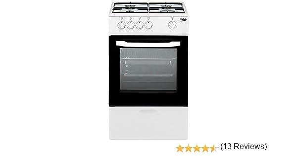 Beko - Cocina-De-Gasnatural-Beko-Csg42010Dwn: 183.48: Amazon.es ...