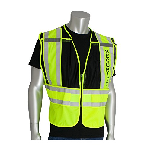 Public Safety Apparel - This Product is ANSI 207 Public Safety Vests - Black