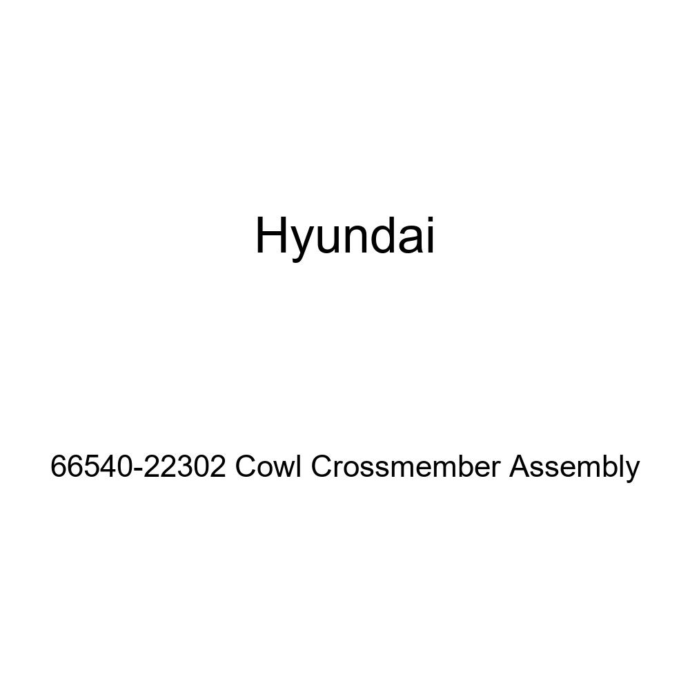 Genuine Hyundai 66540-22302 Cowl Crossmember Assembly