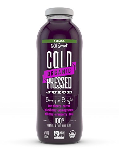 7-Select Organic Cold Pressed Juice - Berry & Bright (14 Oz, - Juice Berry