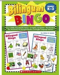 Scholastic Teaching Resources SC-9780439700672 Bilingual (Bilingual Bingo)