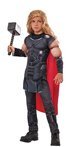 Rubie's Boys Thor Muscle Chest: Ragnarok Costume, Gray, Large -