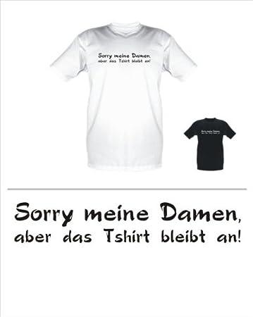 Sprüche Fun T Shirt Sorry Meine Damen Größe Länge Xxl Amazon