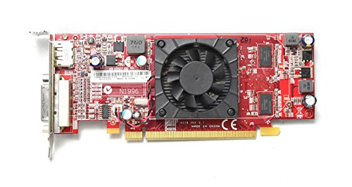 89Y6152 Genuine OEM ATI Radeon HD 5450 512MB Desktop Low Profile Computer Video Graphics Card PCI Express x16 Display Port DVI W/Cooling Fan