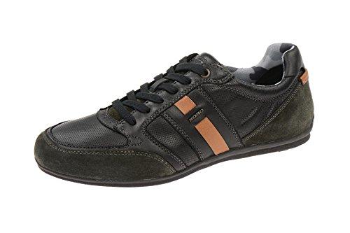 Geox U62P1A 00022 Sneakers Uomo Nero