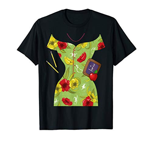 School Teacher Dress Costume - T-Shirt