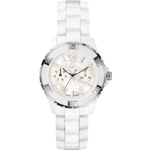 Guess GUESS Gc Sport Class XL-S Glam Ceramic Automatic Women's Watch (Guess Ceramic Watch)