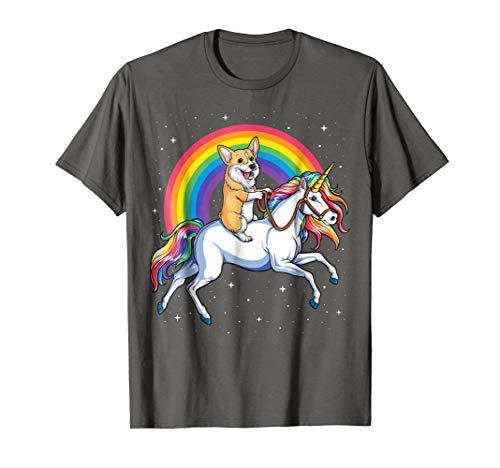 Corgi Shirt Women Kids Men Unicorn Corgicorn Girls Boys Gift