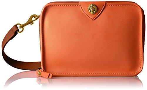 Anne Klein Sally Small Crossbody Camera Bag, Orange Blossom-Pale (Pale Blossom Apparel)
