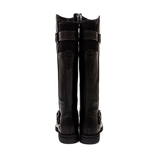 Zip Hill Timberland Black Savin Tall Ladies Boot FxFzOP