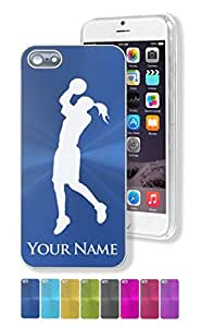 """iPhone 5/5S Case/Cover - WOMAN BASKETBALL PLAYER - Personalized for FREE (Click the """"Contact Seller"""