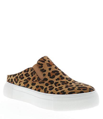 Volatile Platform Sneakers - Very Volatile Morena Slip On Sneaker in Tan Leopard (8)