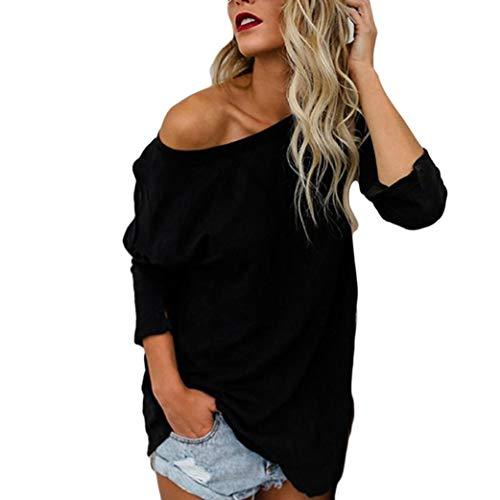Clearance Sale!Women Tops❤️COPPEN Plus Size Women's Long Sleeve Chic Blouse T-Shirt