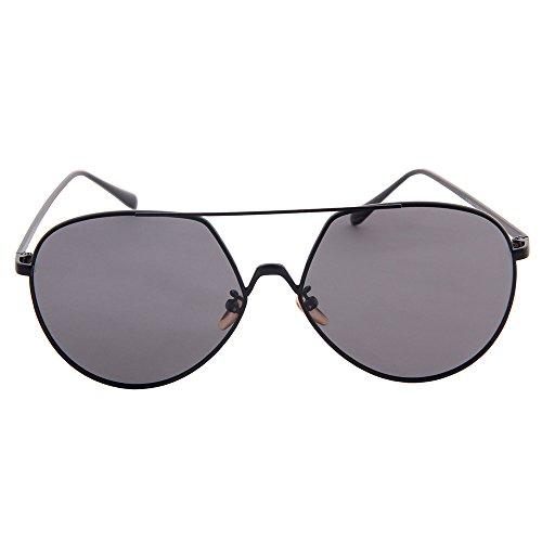 soleil al des mode ogobvck lunettes ultra voyage uv400 de polarisées aviateur de métallique protection conduite convenable mg de black conduite plage léger classique nxwPwYqzA