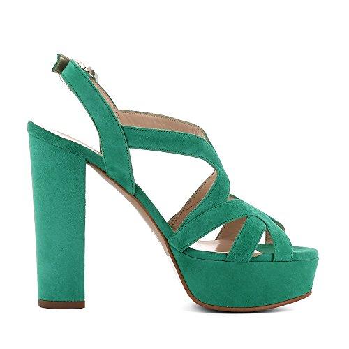Evita Shoes Lana - Sandalias de vestir de Piel para mujer Verde