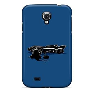 DaMMeke Case Cover Protector Specially Made For Galaxy S4 Batman