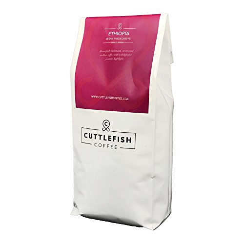 Ethiopia Yirgacheffe Single Origin Freshly Roasted Coffee Beans Perfect For Espresso, Cafetiere, Aeropress, Chemex and Hario - 250g Whole Beans