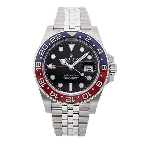 Rolex GMT Master II Mechanical (Automatic) Black Dial Mens Watch 126710BLRO (Certified Pre-Owned)