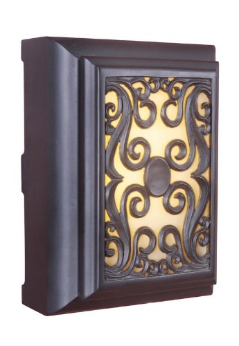 Craftmade ICH1630-OB Framed Scroll Lighted Chime, Oiled (Ob Oiled Bronze Accessories)