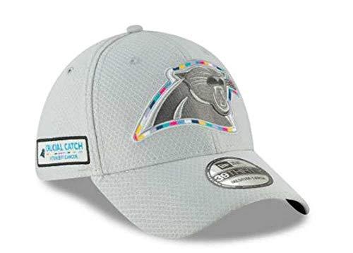 New Era 39Thirty NFL Carolina Panthers Crucial Catch Stretch Fit Hat (S/M) (Era New Stretch)