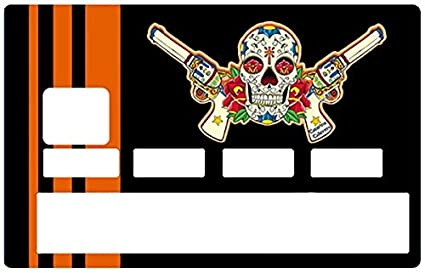 4eeee13376e Amazon.com: DECO-IDEES Credit Card Sticker, Catarina Calavera la ...