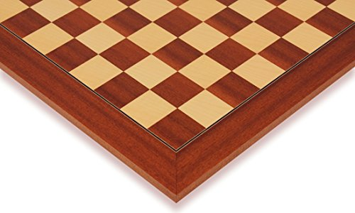 Mahogany Maple Chess Board - 6