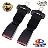 #8: LexAuto 7'' Car Seat Belt Extender 2-Pack, 7/8'' Metal Tongue, Safety Certified, Seatbelt extenders for child car seats, Suitable for most cars