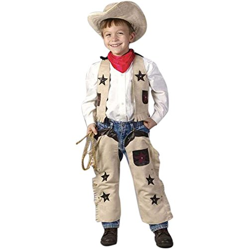 Toddler Sheriff Halloween Costume (Size: 3-4T)