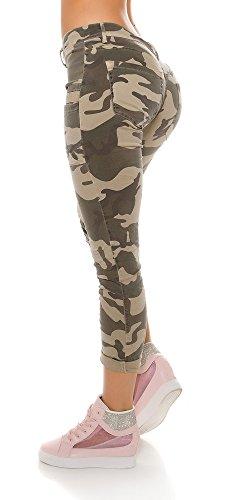 Instyle - Vaqueros - para mujer militar