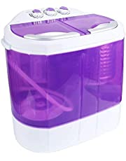 Display4top 3.6 KG wasmachine Mini wasmachine(paars)