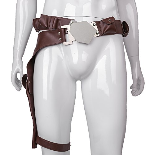 CosFantastic Han Solo Belt Holster PU Leather with Adjustable Metal Buckle Costume Accessories Props ()