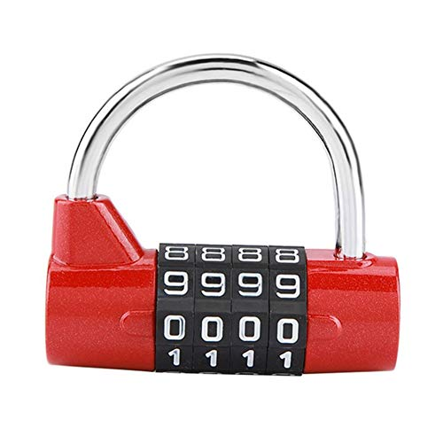 4 Digit Combination Lock Gym Special Locker Room Cabinet Anti-Theft Padlock Resettable Password Chamber Escape Kit Fitness Equipment