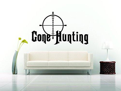 - Hunter Wall Car Vinyl Decal Sticker Mural Hunt Deer Animal Hunting Breech Sign