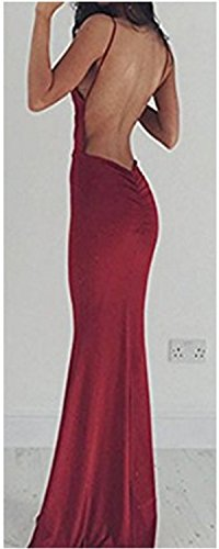 Abendkleid lang rot schulterfrei