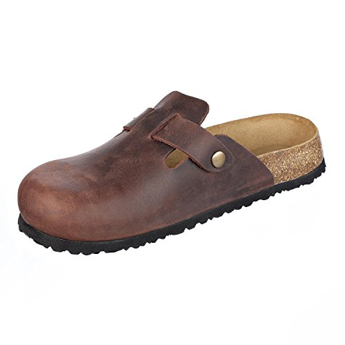 Pictures of JOE N JOYCE Slippers Clogs Shoes Leather Habana 44 EU (11 M US Men) 44 EU (11 M US Men) 4