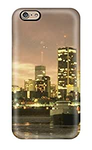 Defender Case With Nice Appearance (city Skyline ) For Iphone 6
