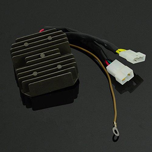 Motorrad Schwarz Spannung Gleichrichter Regler f/ür F650 GS F650ST F650CS G650 X GS Dakar G650 Xcountry G650 Xmoto F650CS Scarver G650 Xchallenge F800S 1300 Regulatoren