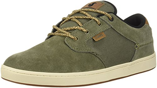 Dvs Footwear Mens Mens DVF0000228330 Quentin Green Size: Olive Suede