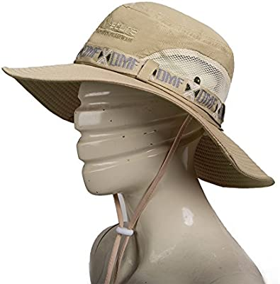 Fashion Summer Outdoor Sun Protection Cap Wide Brim Summer Hat for Fishing /& /&