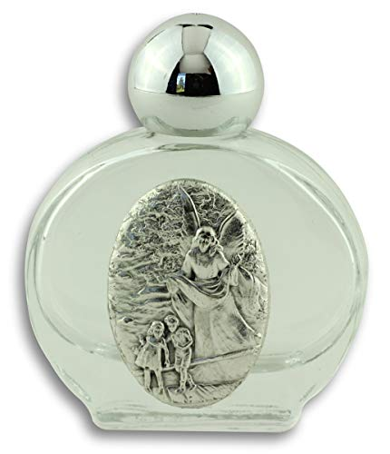 - Lot of 2! Guardian Angel Holy Water Bottle - Made in Italy