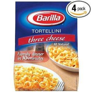 Amazon Com Barilla Three Cheese Tortellini Family 12 Oz Pack Of 4 Tortellini Pasta Grocery Gourmet Food