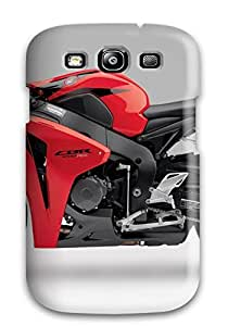 Premium CkxzuZW133QYWfE Case With Scratch-resistant/ Red Honda Cbr 1000rr 2009 Case Cover For Galaxy S3