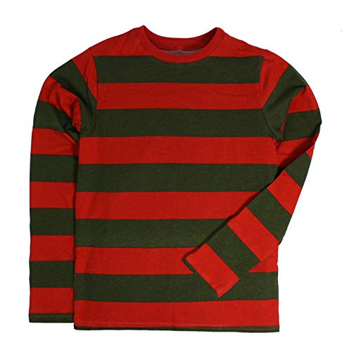 Largemouth Toddler Striped Long Sleeve Nightmare Shirt (5T) -