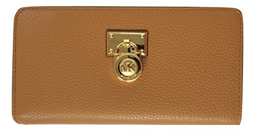 Michael Kors Hamilton Traveler Large Leather Zip Around Wallet by Michael Kors