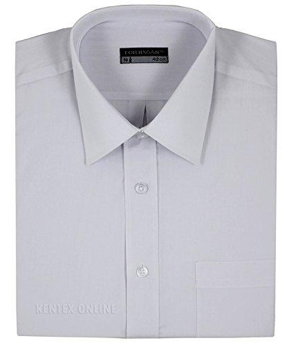 Tom Hagan Men's Formal Shirts Short Sleeve Plain XXXXX-Large (Toms Wear Button Up Shirt)