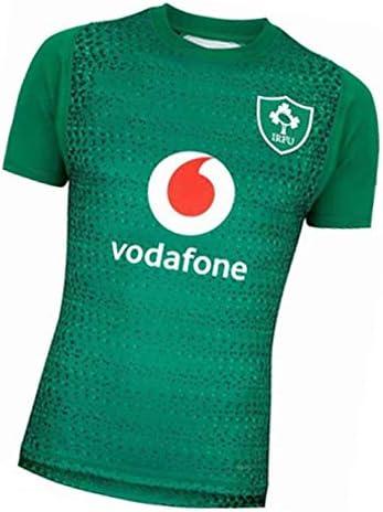 ラグビージャージー2019日本ワールドカップアイルランドホームアンドアウェイサッカージャージースウェットシャツ半袖パーフェクトギフト学生に