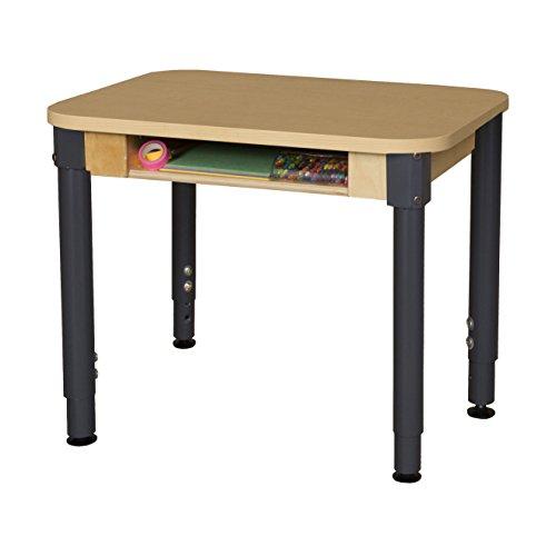 Wood Designs 1824DSKHPLA1829 High Pressure Laminate Desk with 18
