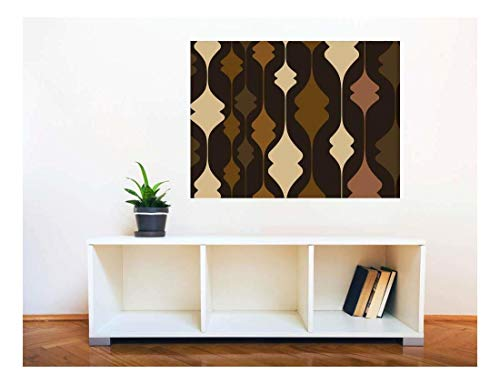 Removable Wall Sticker Wall Mural Abstract Seamless Pattern Creative Window View Wall Decor