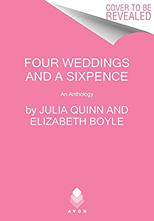 book cover of Four Weddings and a Sixpence